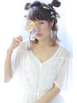 ヘアリゾート ブーケ(hair+resort bouquet)☆ハロウィンヘアアレンジ☆ラフお団子アレンジ