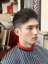 バーバーオブアニュースタイルワンダーセカンド(Barber of a NEWSTA eL WONDER 2ND)Feather Up Style