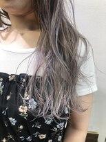 コレット ヘアー 大通(Colette hair)☆ホワイトシルバーピンク☆