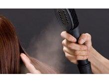 ビューティースペースラルジュヘアー(Beauty Space Large hair)の雰囲気(スチームケアで髪へのダメージを最小限に。)