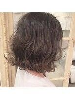 ガーデンヘアー(Garden hair)[松岡]外国人風ハイライトグレージュ