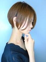 【morio池袋】秋冬流行る髪型大人可愛い前下がりショート♪