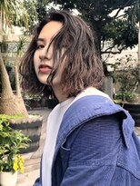 レア 渋谷(Le'a)Le'a渋谷 染谷直樹【ウェット無造作くびれセミディ】