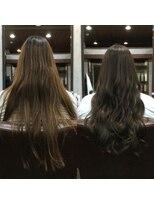 セブン ヘア ワークス(Seven Hair Works)[カラープラチナ]艶感!アッシュグレーカラー
