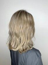 ソーホーヘアーアンドデザイン 姪浜店(SOHO Hair&Design)*SOHO 姪浜*プラチナベージュ
