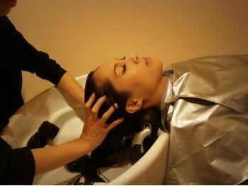 ラナシエン (RanaCien)の写真/【谷町四丁目】髪の美しさを育む新メニューのAujuaスパ登場!半個室の空間で贅沢ヘッドスパを貴女に♪