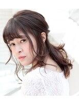 カインド 南青山(hair&make up KIND)【おでかけヘアアレンジ】 ゆるふわハーフアップ