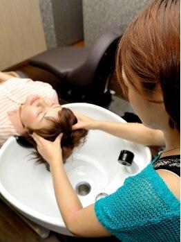 ヘアークリニック アンシード(Hair Clinic an seed)の写真/ヘッドスパ講師の技が光る【ヘッドケア】時間別に選べるメニューは[5分・20分・30分]の3種類★