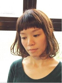 スナッグ(snug)の写真/☆オーガニックカラーで髪の毛や地肌のダメージを抑えて旬のカラーリング♪質感やわらかな艶カラーが完成♪