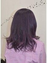 ヘアーサロン エール 原宿(hair salon ailes)(ailes 原宿)style368 パープル☆ヴェールウェーブ