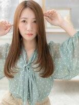 モッズヘア 上尾西口店(mod's hair)大人かわいいミルクティーブラウン小顔ロング上尾a