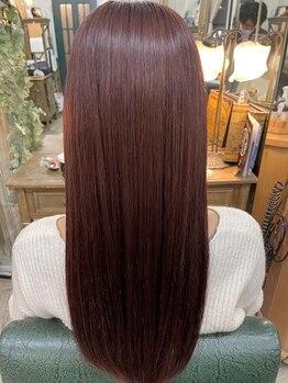 ソレイユ 新宿御苑前 (SOLEIL)の写真/本当にあなたに合う施術をするために、【毛髪診断・顔骨格診断】を行い、あなたの髪の理解を深める。