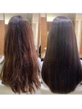 圧倒的にダメージを軽減した施術法と予防美容で本当の美髪へ導きます【レゾシステム】【ホリスティック】