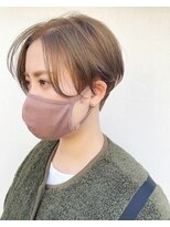センスヘア(SENSE Hair)オリーブベージュ×ハンサムショート☆