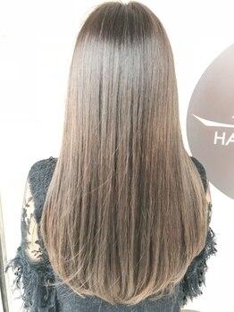 ヘアーギャラリー アヴァン(HAIR GALLERY)の写真/【塚口駅徒歩2分】<プラチナライン>新導入☆光をまとった上質な艶となめからな質感の美しい髪に…♪