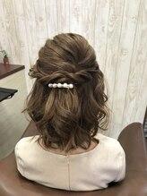 ラボ ヘアー(Lab Hair)カジュアルヘアアレンジ
