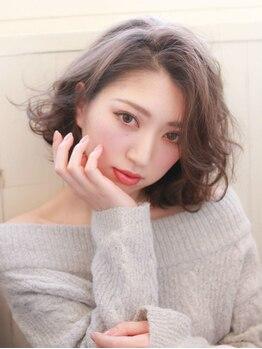 サノ(Sano)の写真/ダメージレスに理想の透明感溢れるカラーを実現!デザインカラーからグレイカラーまで綺麗に仕上げます☆
