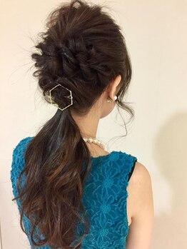 トワル ヘア(toile HAIR)の写真/【お得な組み合わせクーポン多数◎】大人女性の髪に合わせたカラー・パーマ・アレンジなどをご提案します!