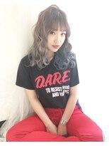 アリス ヘア デザイン(Alice Hair Design)Alice☆個性的フリンジバング×マーメイドブルー