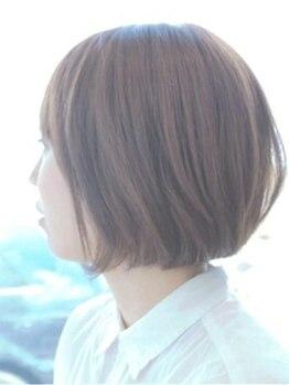 シーカ ヘアデザイン(seeka hair design)の写真/【厳選オーガニックカラー使用サロン】ただ染めるだけでなく、薬剤の調合で明るく染めることも出来る♪