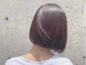 ヘアデザインハレ(hair design HARE)の写真/人気のハホニコ/TOKIOトリートメント取扱い!日々蓄積されるダメージ、変化する髪質に合わせたケア提案。
