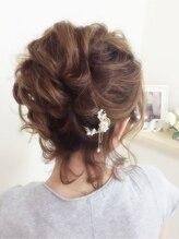 ヘアーセットサロン ピンキー(Hairset Salon Pinky)Pinky☆ふんわりアップアレンジ