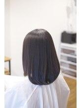 ヘアーワークス アンソル(hair works &SOL)さわりたくなるサラツヤセミロング