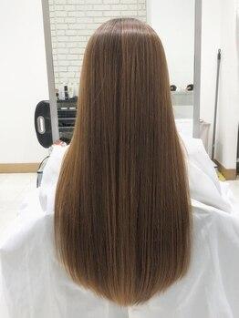 """キャピタル(CAPITAL)の写真/<2019.10.2renewal>CAPITALだからこそできる、""""髪質改善トリートメントメニュー""""で芯から潤う艶髪に*"""
