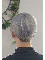 ヘアーサロン エール 原宿(hair salon ailes)(ailes 原宿)style364 テクノ☆ホワイト