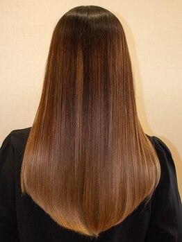 プリマヴェーラ 神楽坂の写真/髪のお悩みがある方にオススメ!【三つ星髪質改善トリートメントエステ】で思わず触れたくなる艶髪へ…♪