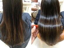 ヘアーグレース 目黒駅前店(HAIR GRACE)の雰囲気(ダメージ毛やエイジレス毛にサイエンスアクア,髪質改善)