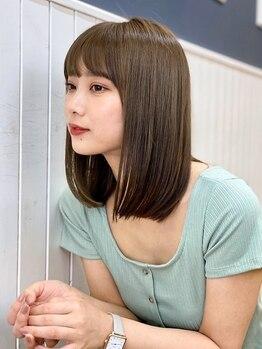 ナチュラル コレット(Natural collet)の写真/くせ毛のお悩みを改善し、更なる美しい髪へ仕上げたい方に。髪のダメージを極力抑える最高級の縮毛矯正を♪