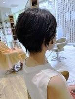 モリオフロムロンドンココサ 下通店(morio)【morio下通】黒髪小顔ボブウルフ20代30代40代