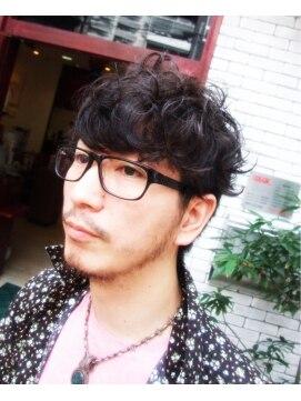 R) ○眼鏡の男○ ツーブロック&