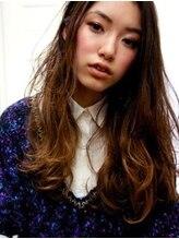 リコ ヘアー(Lico Hair)【Lico Hair】ルーズウェーブ×グラデーションカラー