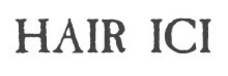 ヘアーアイス(HAIR ICI)のサロンヘッダー