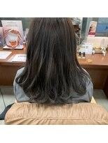 ヘアー コパイン(HAIR COPAIN)[熊本/中央区/上通り/並木坂] ダークトーンなグレージュカラー