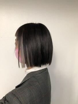 ヘアー スペース オフ(Hair Space Off)切りっぱなしボブ