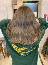 ブレイブ ヘアデザイン(BRaeVE hair design)Royal milktea♪