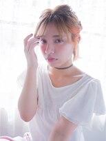 オジコ(ojiko)☆月曜日営業☆ojiko.ニュアンスモードなボブ編み込みアレンジ