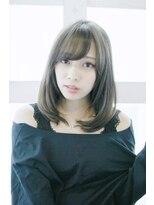 【Lucy 新宿】大人かわいいグレージュミディアム