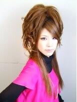 【プレストベル】 ストレートMIXのハーフアップ☆ E-01