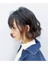 エイム ヘアメイク 横川店(eim HAIR MAKE)インナーカラー × ベージュ