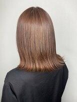 ソース ヘア アトリエ(Source hair atelier)【SOURCE】アプリコットオレンジ