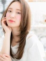 ■mod's越谷10-8★■大人かわいい♪好感華やぎ小顔ストレート