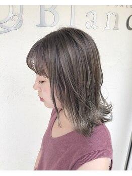 ブラン(Blanc)の写真/【おしゃれ女性必見☆】なりたいカラーをお任せしたいのはココ☆