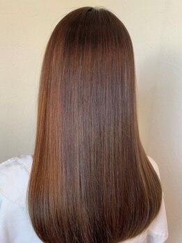 ヘア ミーツ ドレス プレローマ(HAIR meets dress pleroma)の写真/髪の深部にまで栄養が入り込み、まとまりと自然な指通りが続くいつでもきれいな髪質をぜひご体感ください!