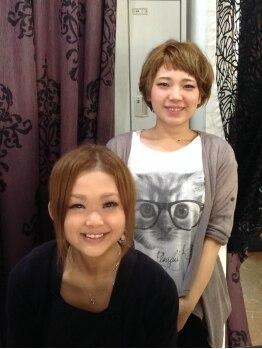 ミンクヘアーデザイン(mink hair design)の写真/女性スタイリストが多く、明るい雰囲気のサロンです!親しみやすい雰囲気で気軽に要望を伝えられます♪