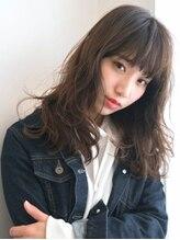 ヘアールーム オハナ(hair room OHANA)ナチュラル×オン眉☆ゆるふわフェアリーセミロング