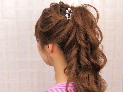 ヘア メイク アール(hair make R)の写真